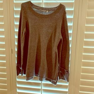 Soft Surroundings Brown Sweater Size Large